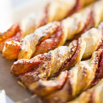 Strawberry Twists From Maurice's Treats ~ Recipe 17