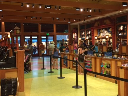 New Cash Registers and Floor Plan at the World of Disney Store! 3