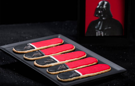 Darth Vader Lightsaber Sugar Cookies 1