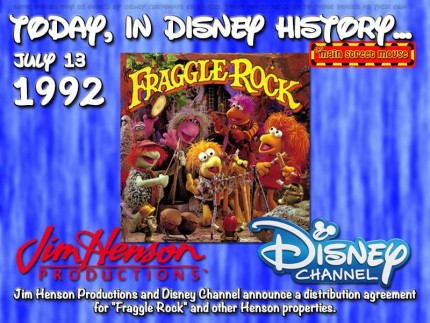 Today In Disney History ~ July 13th 2
