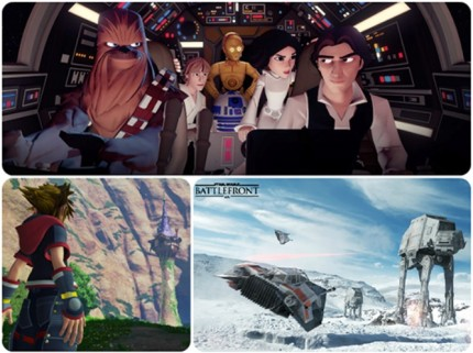 "Disney Interactive Is Bringing ""Infinite"" Gaming Possibilities, Plus Star Wars Battlefront and KINGDOM HEARTS III to D23 EXPO 2015 1"