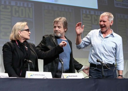 Fresh From Comic-Con, BTS Video of Star Wars: The Force Awakens and All the Pics From the Panel & Surprise Concert 12