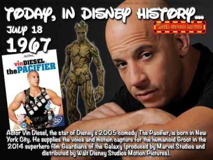 Today In Disney History July 18th