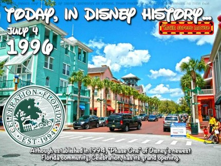Today In Disney History ~ July 4th 3