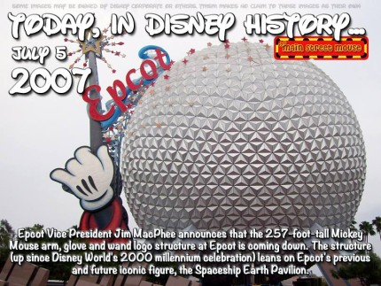 Today In Disney History ~ July 5th 5