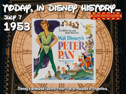 Today In Disney History ~ July 7th 5