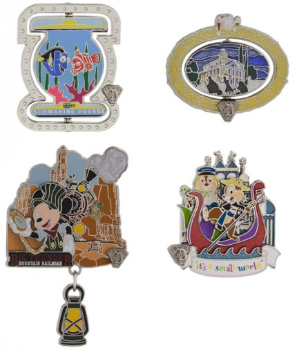 Disneyland Resort Diamond Celebration August Pin Releases 3