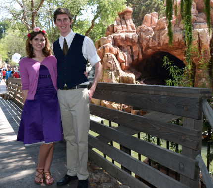 Our Favorite Outfits from the Official 60th Anniversary of Disneyland 3