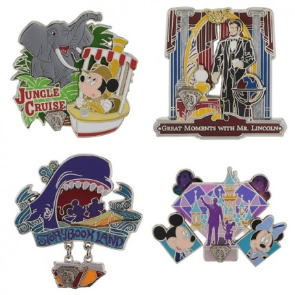 New Pins Debut for the Disneyland Resort Diamond Celebration 8