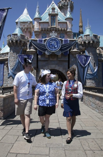 South Carolina Honeymooners Win Disneyland Diamond Days Prize on Anniversary of Disneyland Resort 2