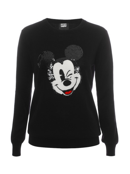 Marcus Lupfer Creates Adorable Vintage Mickey Sweaters 1