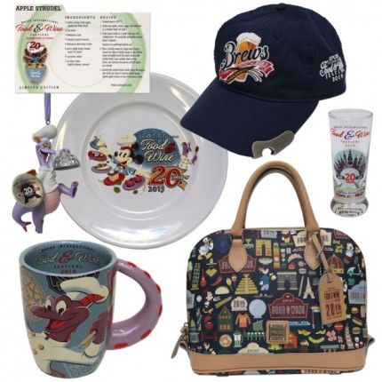 First Look at Commemorative Products for 20th Epcot International Food & Wine Festival 16