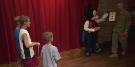Top U.S. Military Surprise Reunions at Walt Disney World Resort 2
