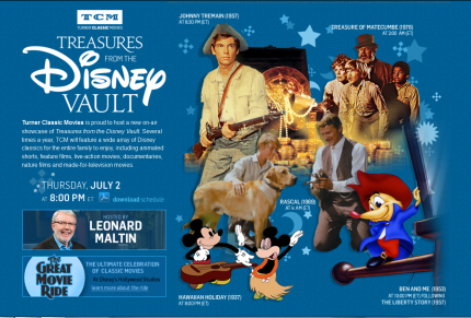 TCM's Third Installment of Treasures From Vault Disney Airs Tonight! 5