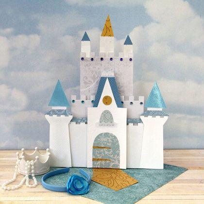 Cinderella Dresser-Top Castle Craft Idea! 25