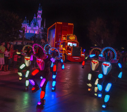 'Paint the Night' at Disneyland Resort is First Disney Parks Parade to Offer Audio Description and Handheld Captioning for Guests with Visual or Hearing Disabilities 16