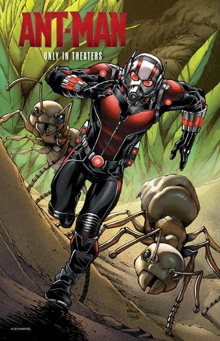Exclusive 'Ant-Man' Print Coming to Redd Rockett's Pizza Port at Disneyland Resort 1
