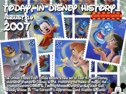 Today In Disney History ~ August 16th 3