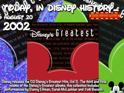 Today In Disney History ~ August 20th 5
