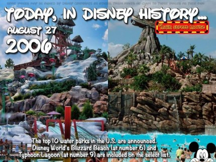 Today In Disney History ~ August 27th 5