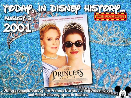 Today In Disney History ~ August 3rd 4