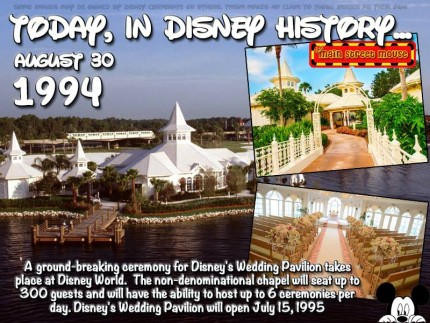 Today In Disney History ~ August 30th 5