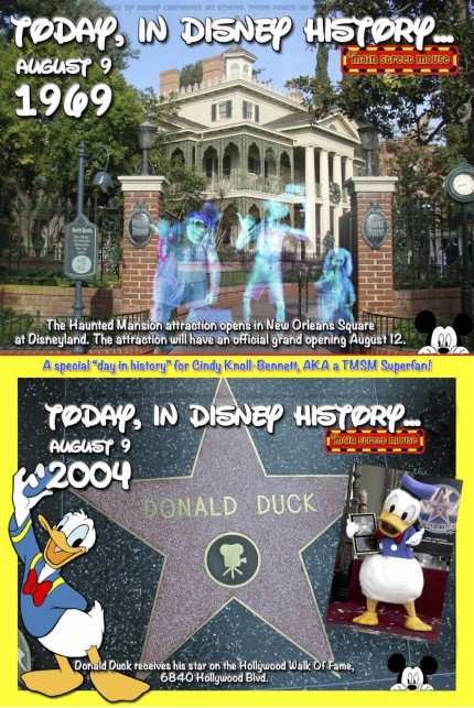 Today In Disney History ~ August 9th 7