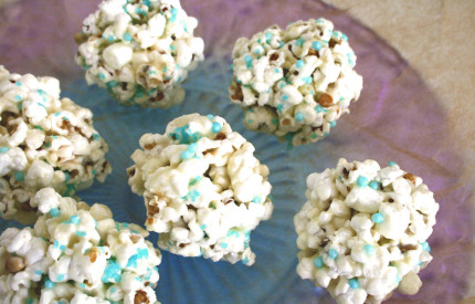 Frozen Popcorn Snowballs ~ Recipe 9