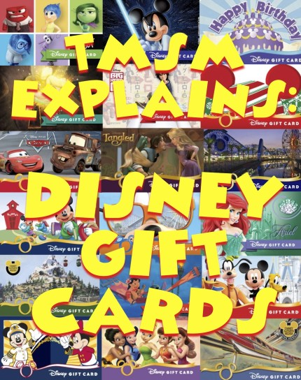 TMSM Explains: Disney Gift Cards New Ways To Buy Them, Where You Can Use Them And More 10