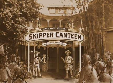 Jungle Navigation Co., Ltd. Skipper Canteen To Open at Magic Kingdom Park 22