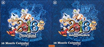 New Licensed Disney Parks Calendars Available Now Through The Disney Store! 6
