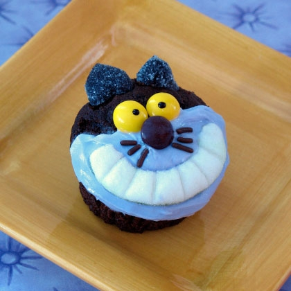 Cheshire Cat Cupcakes ~ Recipe 22