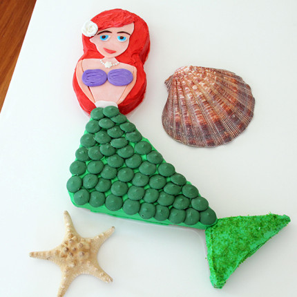 Little Mermaid Cake ~ Directions! 4
