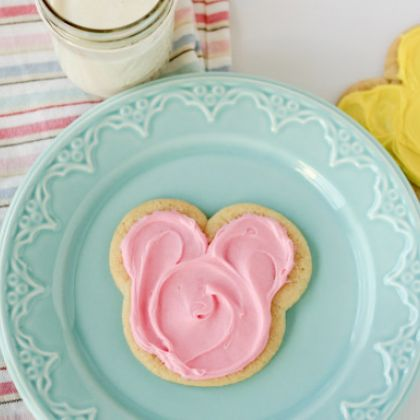 Mickey Mouse Cut Outs Cookies 4