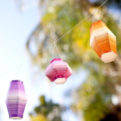 Minnie's Masquerade Paper Lanterns ~ Summer Craft 1