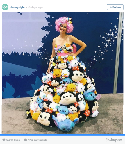 Get The Behind The Scenes Story Of The Tsum Tsum Dress