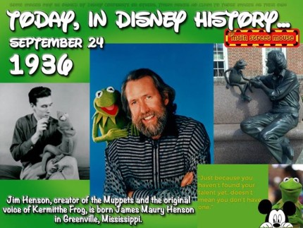 Today In Disney History ~ September 24th 3