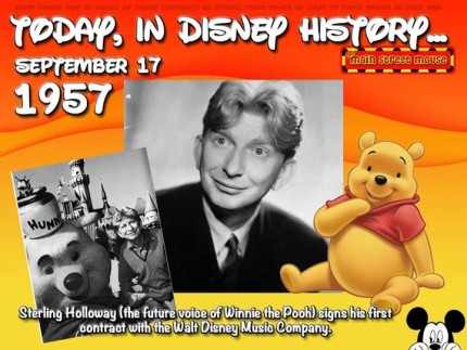 Today In Disney History ~ September 17th 5