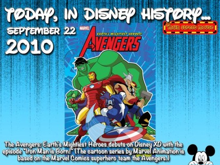 Today In Disney History ~ September 22nd 3