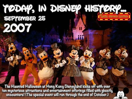 Today In Disney History ~ September 25th 6