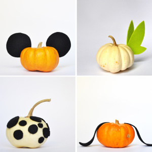 Five Quick to Make Disney Inspired Pumpkins That Anyone Could Do 4