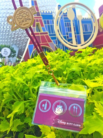 New Wearable Disney Gift Card Design Celebrates 20 Years of the Epcot International Food & Wine Festival 13