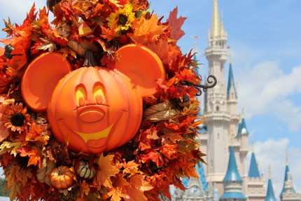 Halloween Decorations Hit the Magic Kingdom! 1