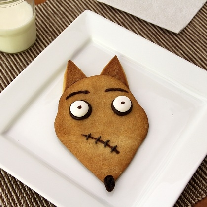 """Sparky from """"Frankenweenie"""" Cookies 12"""