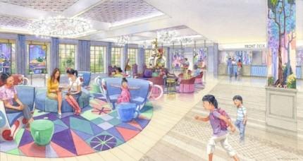 Tokyo Disney Celebration Hotel To Open in 2016 1