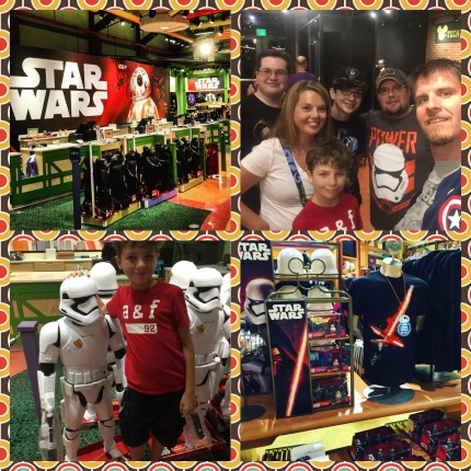 #ForceFriday meant new Star Wars merchandise at Downtown Disney! Check this out! 2