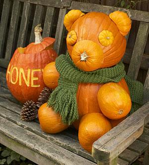 TMSM Pumpkin Art~ Pooh Bear 8