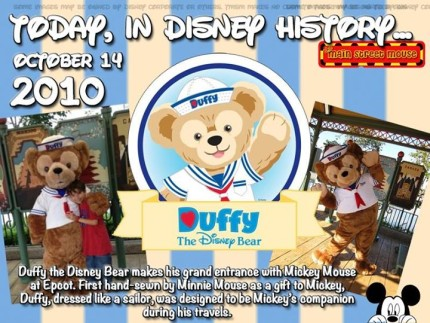 Today In Disney History ~ October 14th 2