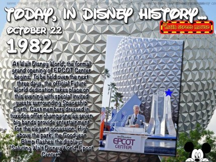 Today In Disney History ~ October 22nd 4
