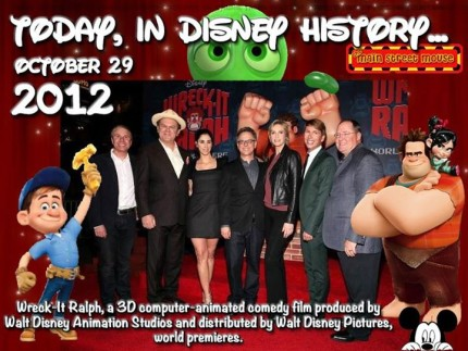 Today In Disney History ~ October 29th 1